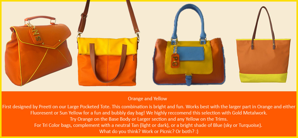 Toteteca Trends Orange and Yellow