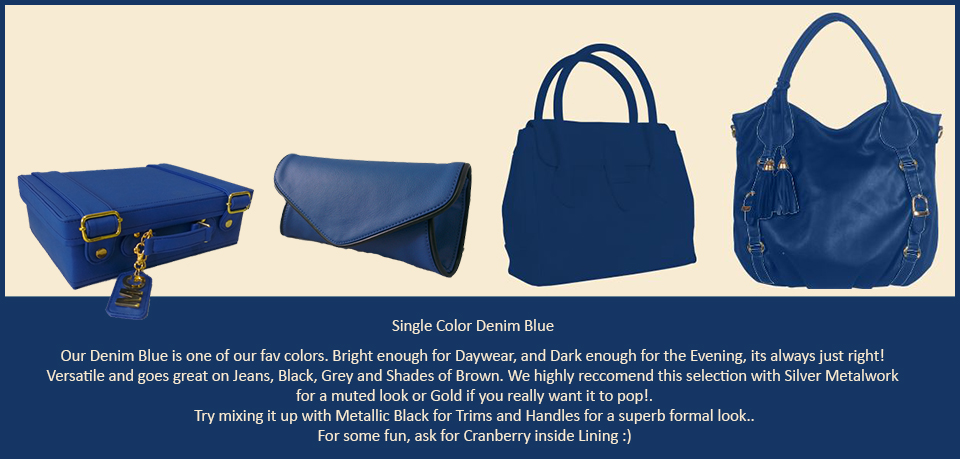 Toteteca Trends Denim Blue