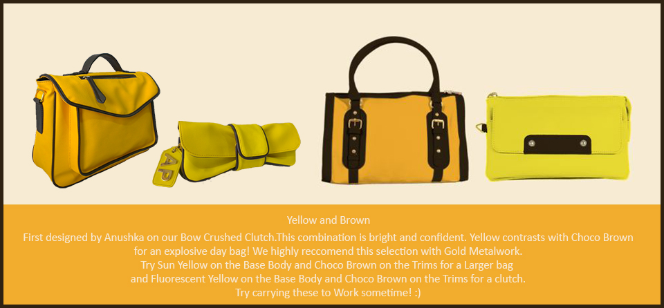 Toteteca Trends Yellow and Brown
